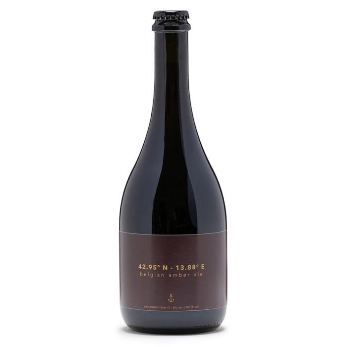 Menoamara - Birra La Marinière - Belgian Amber Ale